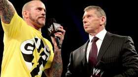 CM Punk & Vince McMahon