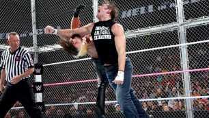 Seth Rollins vs, Jon Moxley