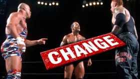 Triple Threat Match - Kurt Angle vs. The Rock vs. Undertaker